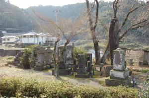 写真:矢嶋家墓地