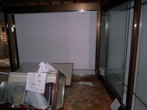 四賢婦人記念館 被害状況 (4)