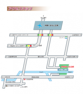 四賢婦人記念館マップ