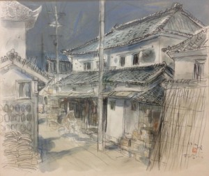 栗崎英男の作品「松合の風景C」