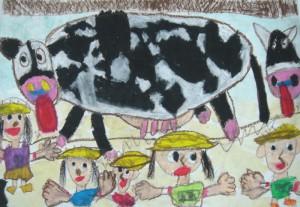 マナブ児童画