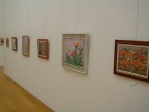 写真:不知火美術館講座 アート展の様子