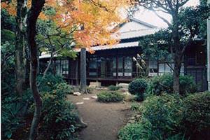 夏目漱石内坪井旧居の写真
